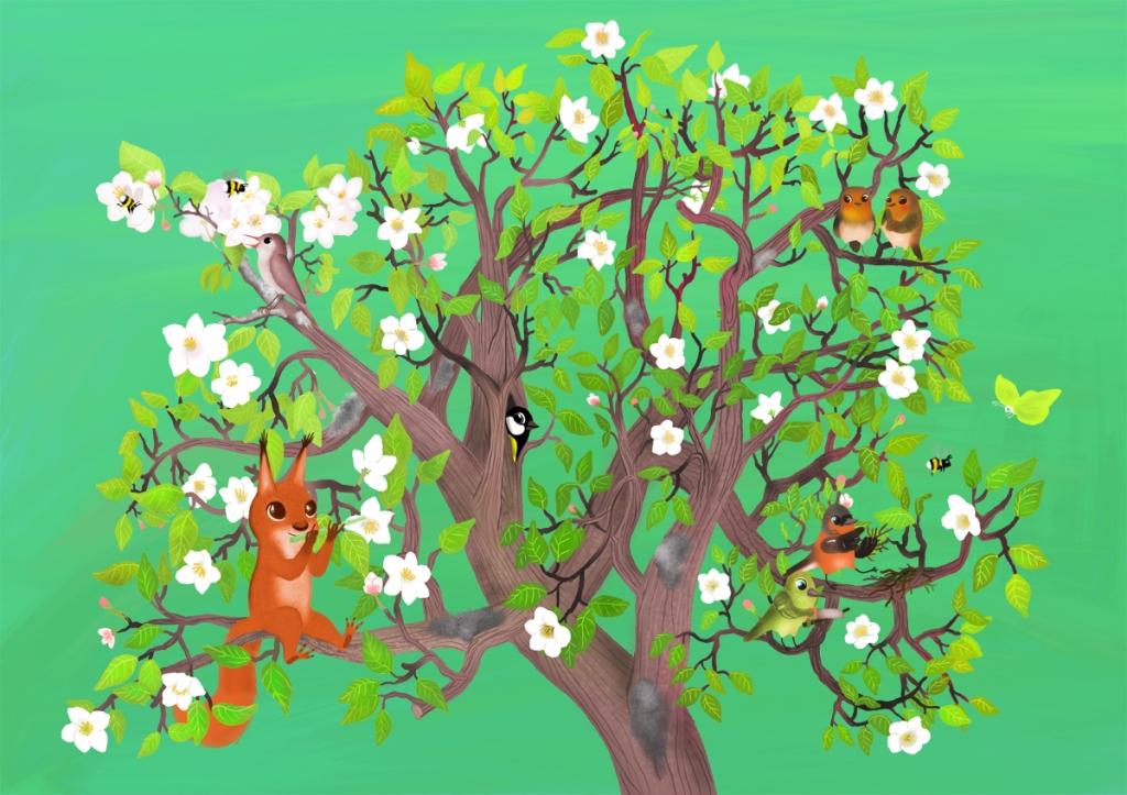 Tämän kuvan alt-attribuutti on tyhjä; Tiedoston nimi on laulupuukokeilu.jpg